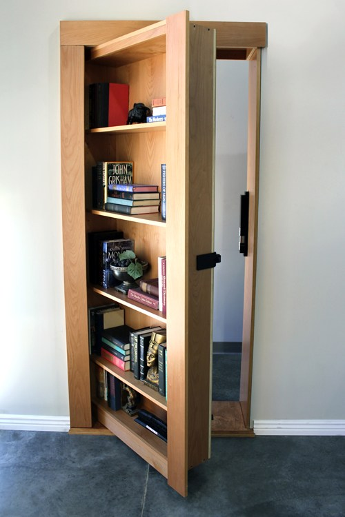 Best Study Room: Secret Bookcase Door - Buy Now - Secure & Hidden